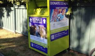 子供服リサイクルボックス
