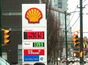 NorthAmrica No.1 Vancouver Gas Price