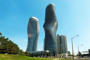 Marilyn Monroe Building in Mississauga Ontario, Canada