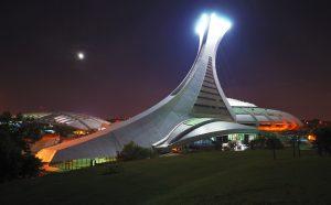 OLYMPIC STADIUM, Montreal, Quebec.